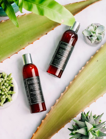 SuperFoodLx Quinoa Protein Strengthening Shampoo & Conditioner