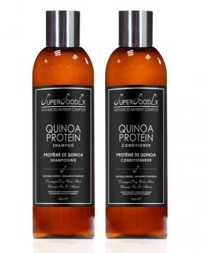 SuperFoodLx Quinoa Protein Shampoo & Conditioner