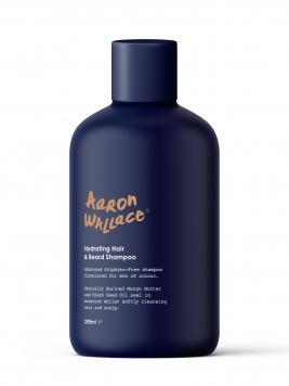 aaron wallace black men hair and beard shampoo